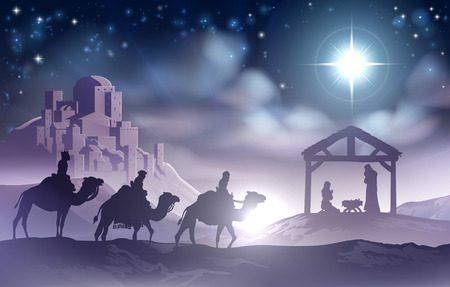 Christliche Bilder Weihnachten.Die Geburt Von Jesus Wird Angekündigt Lebendige Hoffnung